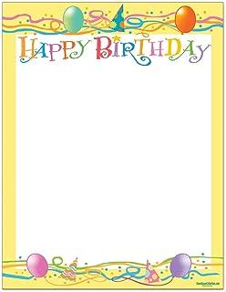 Best birthday stationery paper Reviews