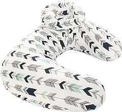 Borje 45° Angle Newborn Breastfeeding Adjustable Pillow for Babies Nursing Baby Lounger (Arrows)