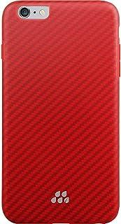 multifun Evutec Apple iPhone 6/6S Plus Karbon SI Series, Brigandine ? Red [並行輸入品]