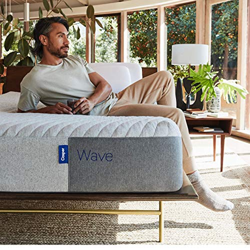 Casper Sleep Wave Mattress, Queen (2020 Model)