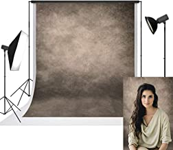 UrcTepics 5x7ft Microfiber Beige Portrait Background for Photographer Abstract Beige Portrait Backdrop Old Paper Texture Studio Props