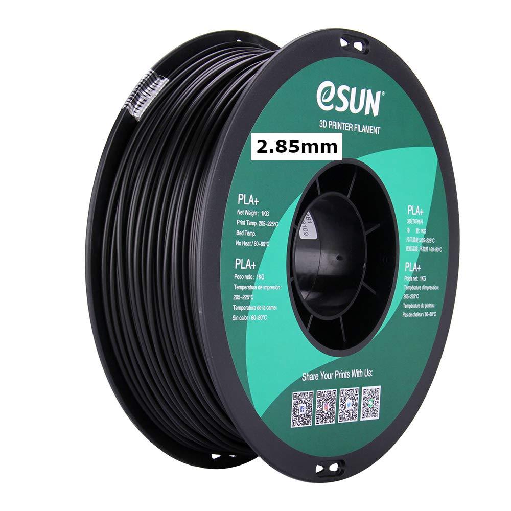 eSUN 3mm Black PLA OFFicial PRO PLA+ Spool 3D Max 45% OFF Filament 2.2 1KG Printer