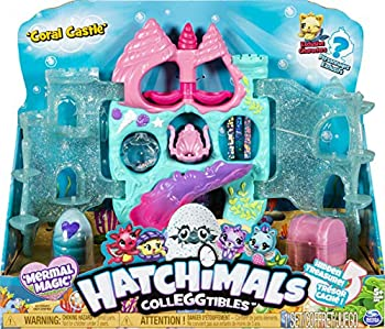 Hatchimals CollEGGtibles Coral Castle Fold Open Playset with Exclusive Mermal Character  Amazon Exclusive Set  Girl Toys Girls Gifts for Ages 5 and up