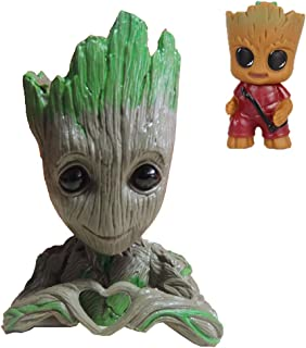 groot fish tank figure