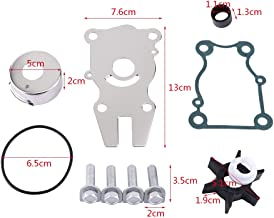 Qiilu 1 Set of Water Pump Repair Rebuild Kit Fit for Yamaha Outboard Motor 1995-Current Exclude C40