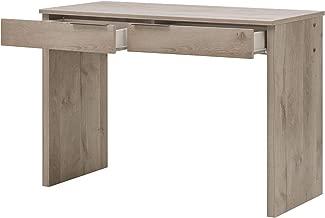 GAMI Brooklyn Desk with 2 Drawers, Oak ash, 1H52150