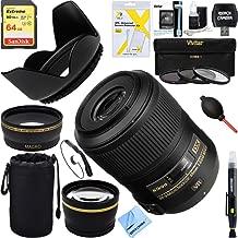 Nikon NikonAF-S DX Micro NIKKOR 85mm f/3.5G ED VR Lens Digital SLR Cameras + 64GB Ultimate Filter Bundle
