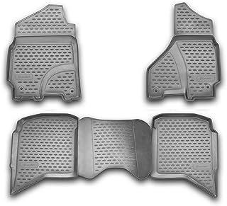 Element Rubbermatten voor DODGE RAM 1500/2500/3500 Crew Cab, 2002-2012 4 delig, zwart