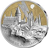 Hogwarts Castle Castillo Harry Potter Moneda Plata 50€ Euro France 2021