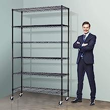 Metal Storage Shelves With Wheels
