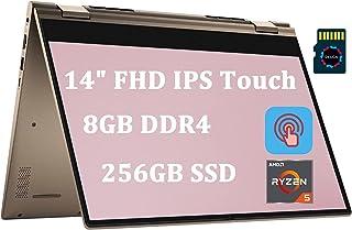 "Dell Inspiron 14 7000 Premium 2 in 1 Laptop I 14""FHD IPS Touchscreen I AMD 6-Core Ryzen 5 4500U (>i7-8550U) I 8GB DDR4 25..."