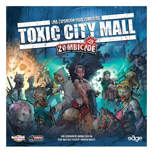 Unbekannt Zombicide EXT Toxic City Mall VF