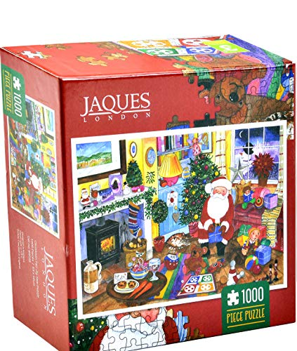 Jaques of London Puzzle di Natale 1000 Pezzi