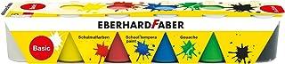 Eberhard Faber 575509 farba do malowania szkolnego Tempera, 6 x 25 ml pojemniczka, basic