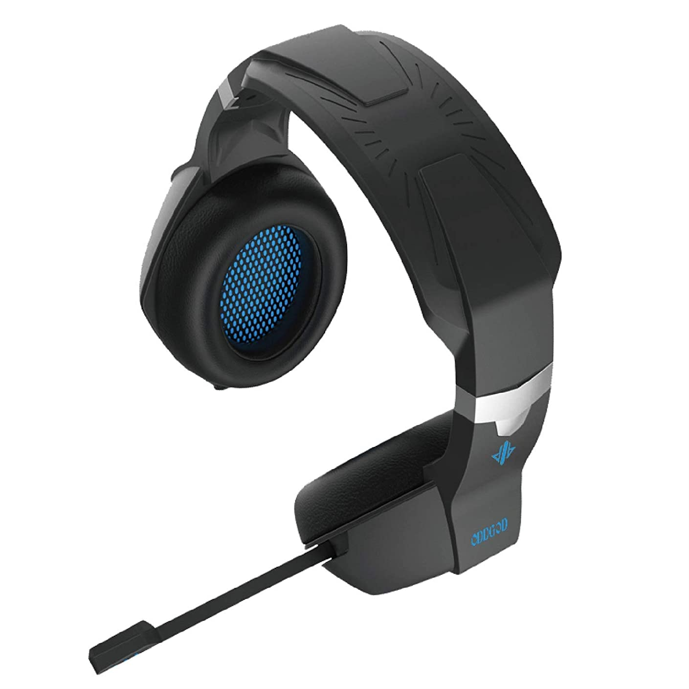 ゲーム韻ベアリングサークルFUNXS 機器、ポータブルオーディオ、PC、HiFi用照光式有線ヘッドセットゲームヘッドセット通信