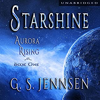 Starshine audiobook cover art