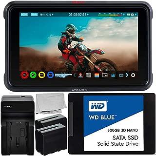 with 500GB AtomX SSDmini Card and Starter Kit #ATOMSHG701 Atomos Shogun 7 HDR Pro Monitor//Recorder//Switcher