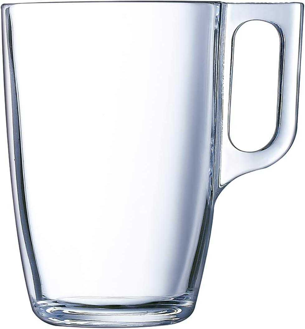 Luminarc Kaffeebecher f/ür die Mikrowelle Glas 6/St/ück 32cl