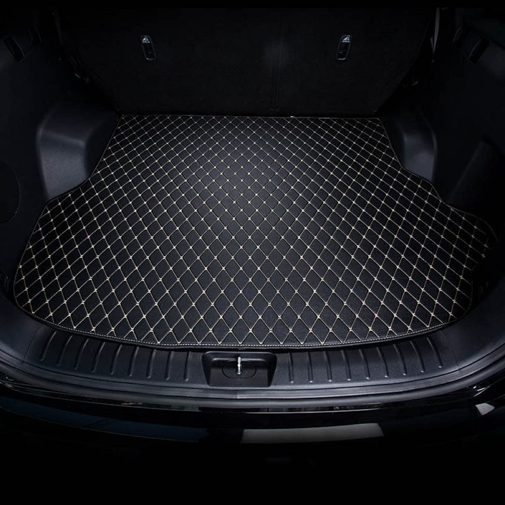 GLEETIEZ Customed Car Trunk Mat Gifts pad Superlatite Cargo Leather Lin Rear