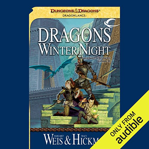 Dragons of Winter Night     Dragonlance: Chronicles, Book 2              By:                                                                                                                                 Tracy Hickman,                                                                                        Margaret Weis                               Narrated by:                                                                                                                                 Paul Boehmer                      Length: 17 hrs and 52 mins     2,005 ratings     Overall 4.6