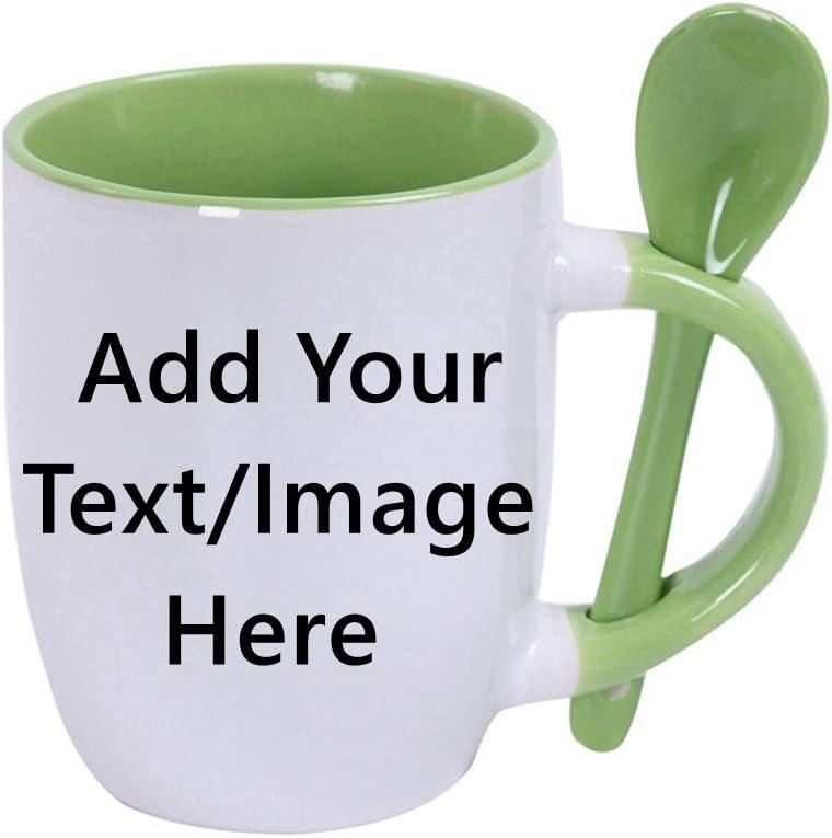 Custom Daily bargain sale Ceramic Coffee Mugs With 10 Ranking TOP20 - Spoons Ounce -Personalizati