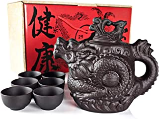 Best gold dragon tea set Reviews