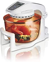 HWZQHJY Halogen Airwave Low Fat Air Fryer, Triple Cooking Power of Halogen, Convection and Infrared, 1000 W, 7 Litre Capac...