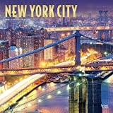 New York City 2020 12 x 12 Inch Monthly Square Wall Calendar with Foil Stamped Cover, USA United States of America New York State Northeast City (English, Spanish and French Edition)