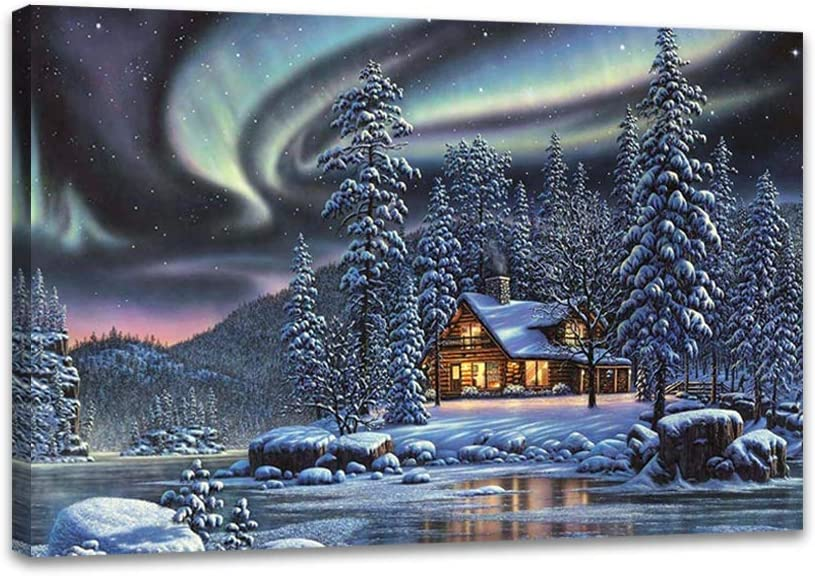 Aurora Canvas Wall Art Paintings OFFicial store Bedroom Offices Living Room for Department store