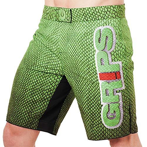 Keliour Box-Shorts Green Dragon Scale...