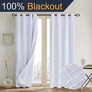 Amazon.com: White - Draperies & Curtains / Window Treatments: Home ...