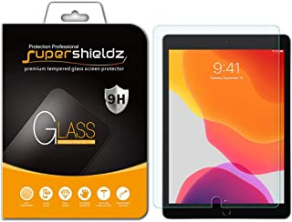 Supershieldz for Apple New iPad 10.2 inch (2019, 7th Generation), iPad Air 3 (2019) 10.5 inch and iPad Pro 10.5 inch Screen Protector, (Tempered Glass) Anti Scratch, Bubble Free