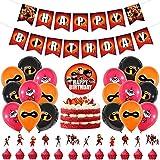 Babioms Accesorios de fiesta de cumpleaños, decoración de fiesta de cumpleaños para niños, suministros de fiesta de cumpleaños para niños, 30 unidades