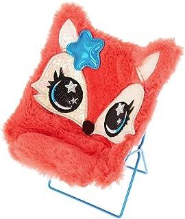Claire's Girl's Cute Fox Papasan Chair Phone Holder - Coral