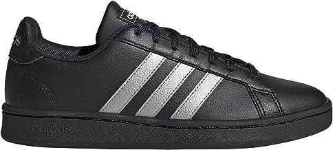adidas womens GRAND COURT TECHNICAL_SPORT_SHOE, Color: Black, Size: 38 EU