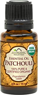 Sponsored Ad - US Organic 100% Pure Patchouli Essential Oil - USDA Certified Organic, Steam Distilled - W/Euro droppers (M...