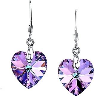 Best purple earrings cheap Reviews