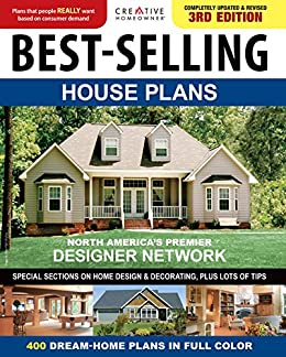 Amazon Com Best Selling House Plans 400 Dream Home Plans In Full Colour Ebook Homeowner Creative Creative Homeowner Kindle Store