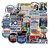 50個のバイデンハリスUS2020 大統領選挙の落書き防水ステッカー、ラップトップ、バンパー、ケトル、コンピューター、携帯電話、ヘルメット、車のステッカー、デカールに適しています