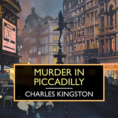 Murder in Piccadilly audiobook cover art