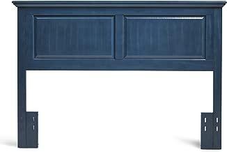Mantua Arcadia Wood Headboard, Twin, Wedgewood Blue,