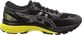 ASICS GEL-NIMBUS 21, Men's Road Running Shoes, Black (BLACK/LEMON SPARK), 9 UK (44 EU)