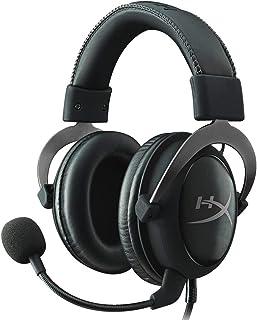 【Amazon.co.jp限定】HyperX Cloud II ゲーミング ヘッドセット 7.1バーチャルサラウンドサウンド対応 USBオーディオコントロールボックス付属 ガンメタル KHX-HSCP-GM オリジナルデータ特典付き