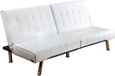 Amazon.com: VIG- Coolidge Divani Casa Modern White Leather ...