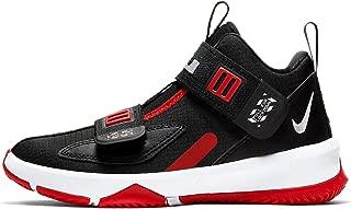 Kids' Preschool Lebron Soldier 13 Basketball Shoes (3, Black/Red)