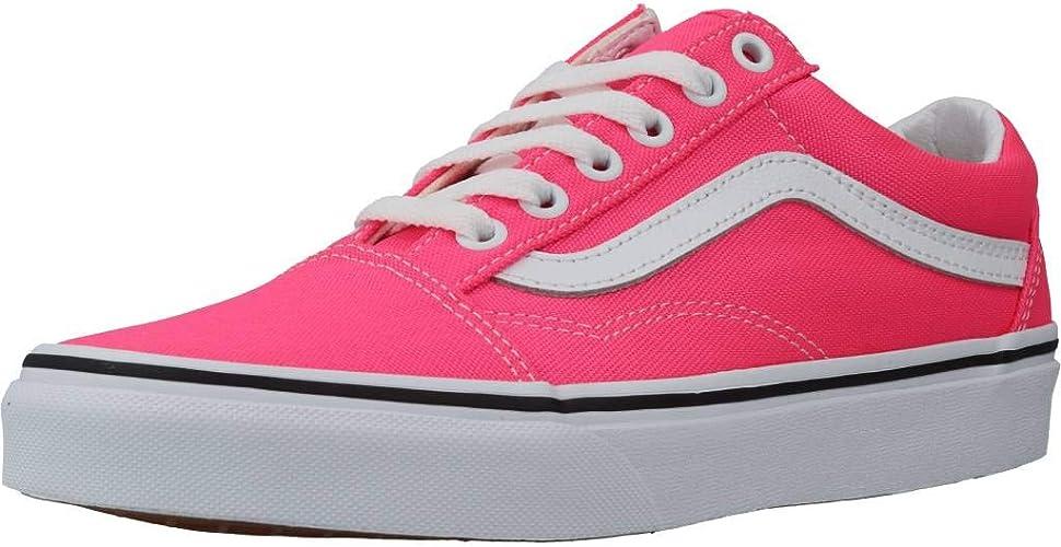 Vans Chaussures DE Sport pour Femme Rose Fluo VN0A4U3BWT61