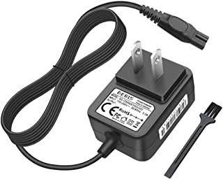 IBERLS 2W Shaver Charger Replacement for Philips HQ850 Power Cord, Compatible with Philips Electric Razor Norelco Oneblade QP2530, QP2630 All-In-One Grooming Trimmer Charging Cable