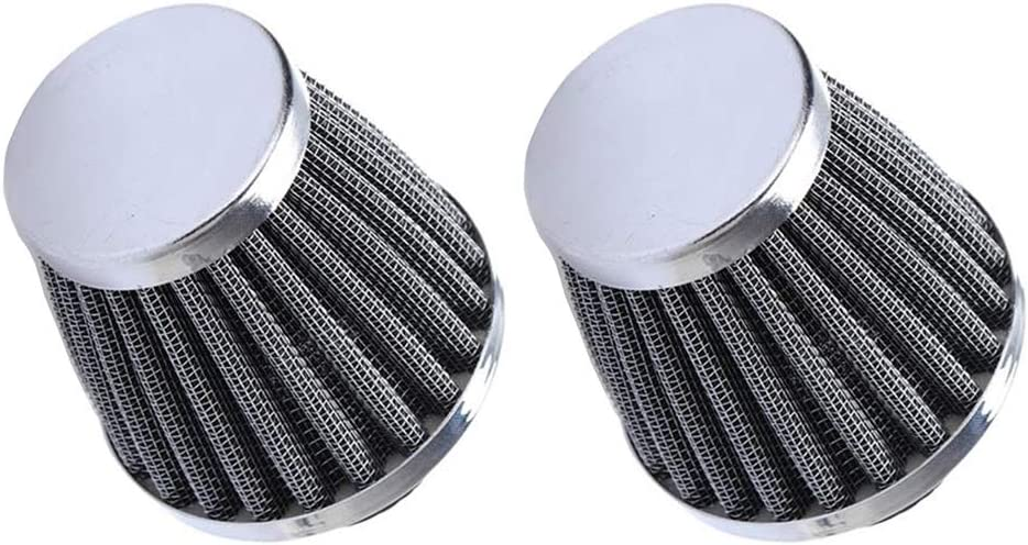 ESUPPORT Milwaukee Mall 2 X 54mm 2021 new Mini Cone Cold Air Turbo Vent Cl Intake Filter