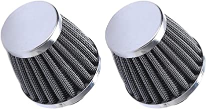 ESUPPORT 2 X 54mm Mini Cone Cold Air Intake Filter Turbo Vent Clean Fresh Car Motorcycle