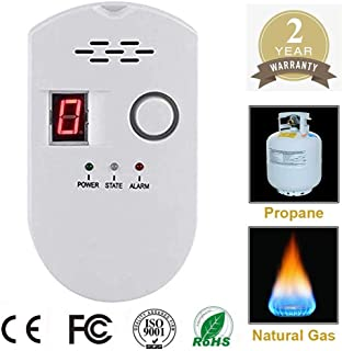 Propane/Natural Digital Gas Detector, Home Gas Alarm, Gas Leak Detector,High Sensitivity..
